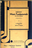 Robinson s Music Fundamentals and Music Note Book Book PDF