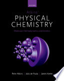 Atkins  Physical Chemistry 11e