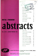 Metal Finishing Abstracts Book