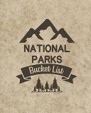 U  S  National Parks Bucket List Book