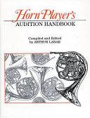 Horn Player s Audition Handbook