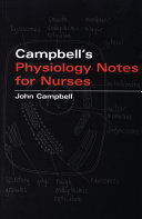 Campbell's Physiology Notes For Nurses Book