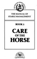 The Manual of Stable Management  Care of the horse