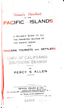 Stewart S Handbook Of The Pacific Islands