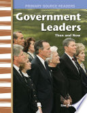 Government Leaders Then and Now Book PDF