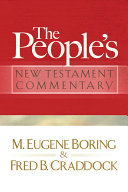 The People's New Testament Commentary