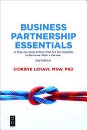 Business Partnership Essentials [Pdf/ePub] eBook