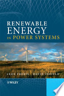 Renewable Energy in Power Systems Book