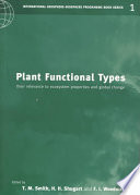 Plant Functional Types Book PDF