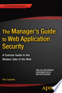 The Manager S Guide To Web Application Security Book PDF