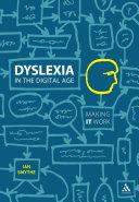 Dyslexia in the Digital Age