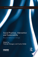 Social Practices Intervention And Sustainability