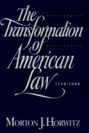 The Transformation of American Law, 1870-1960 Pdf/ePub eBook