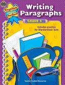 Writing Paragraphs, Grade 6