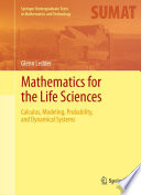 Mathematics For The Life Sciences
