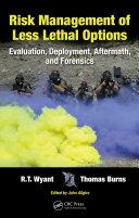 Risk Management of Less Lethal Options Pdf/ePub eBook