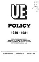 UE Policy