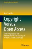Copyright Versus Open Access