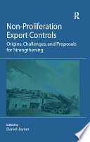 Non Proliferation Export Controls