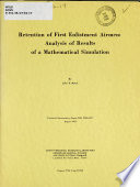 Retention of First Enlistment Airmen Book