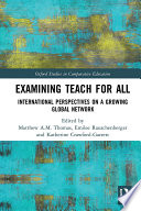 Examining Teach For All