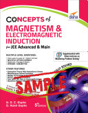 FREE SAMPLE  Concepts of Magnetism   Electromagnetic Induction for JEE Advanced   Main 5th Edition