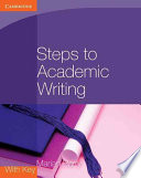 Books - Steps To Academic Writing Coursebook | ISBN 9780521184977