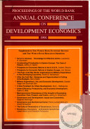 Proceedings Of The World Bank Annual Conference On Development Economics Book PDF