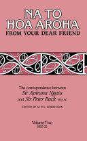 Na to Hoa Aroha, from Your Dear Friend, Volume 2 Pdf/ePub eBook
