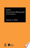 International Bibliography Of Economics