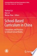 School-Based Curriculum in China