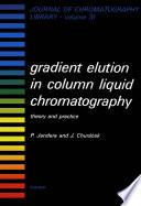 Gradient Elution in Column Liquid Chromatography