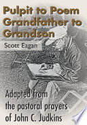 Pulpit To Poem Grandfather To Grandson