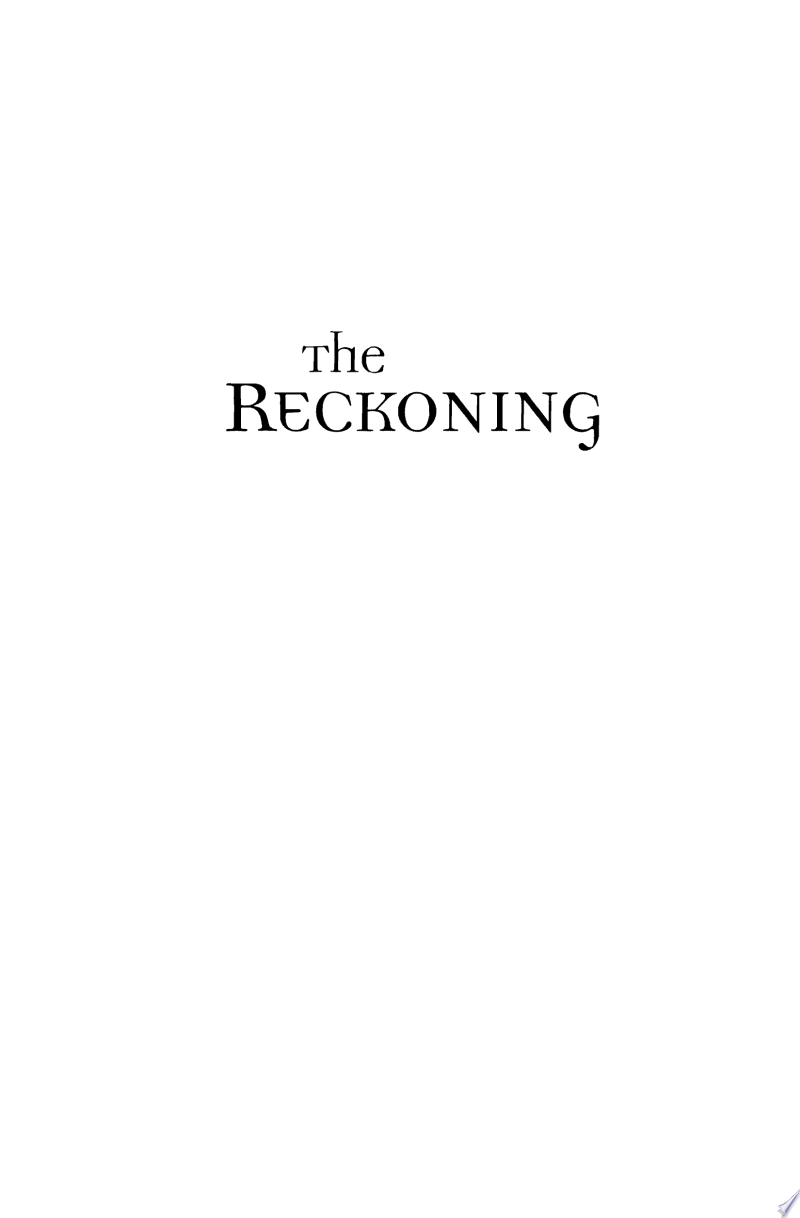 The Reckoning (Heritage of Lancaster County Book #3) banner backdrop