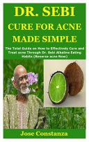 Dr  Sebi Cure for Acne Made Simple Book