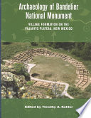 Archaeology Of Bandelier National Monument