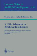 Ki 96 Advances In Artificial Intelligence