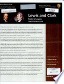 Lewis and Clark Eastern Legacy Special Resource Study, September 2010
