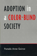 Adoption in a Color-blind Society