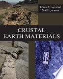 Crustal Earth Materials Book