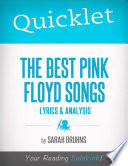 Quicklet on The Best Pink Floyd Songs  Lyrics and Analysis