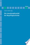 Archiv für Begriffsgeschichte / Die Interdisziplinarität der Begriffsgeschichte