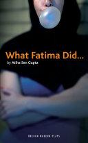 What Fatima Did...