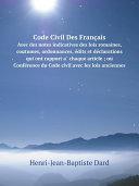 Pdf Code Civil Des Fran?ais