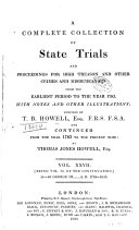 Pdf A Complete Collection of State Trials and Proceedings for High Treason and Other Crimes and Misdemeanors