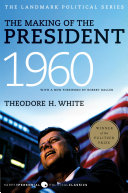 The Making of the President 1960 Book