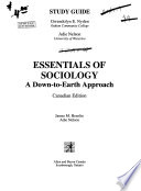 Essentials of Sociology : a Down-to-earth Approach, Canadian Edition. Study Guide