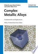 Complex Metallic Alloys Book PDF