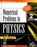 Numerical Prob In Physics X 2E
