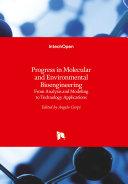 Progress in Molecular and Environmental Bioengineering